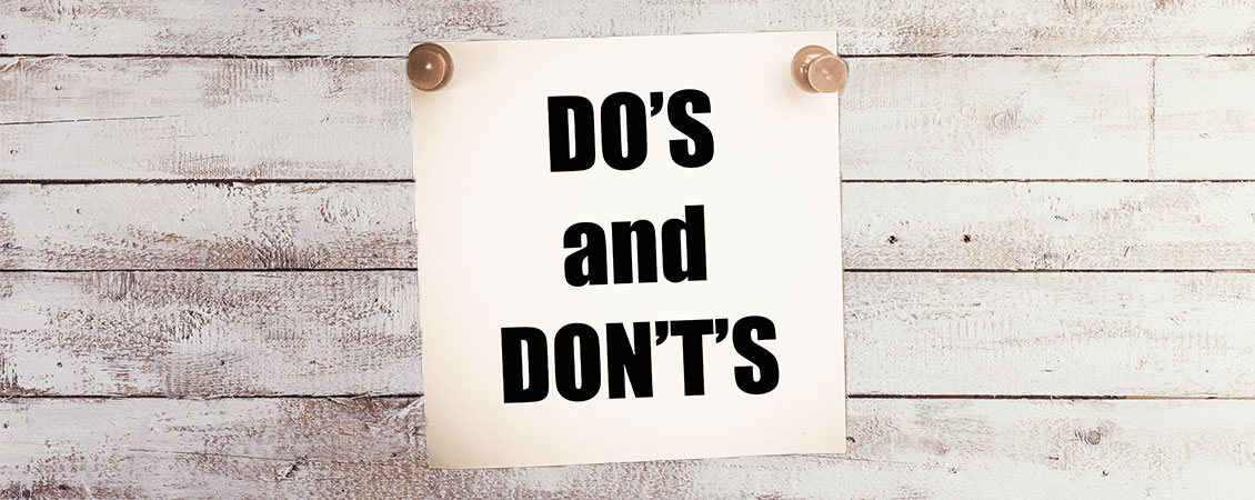 Marketing do's og don'ts for nystartede virksomheder